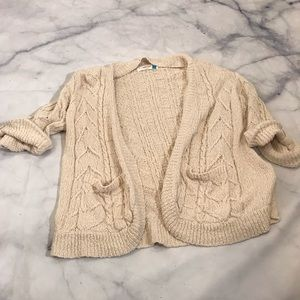 Sweaters - Sparrow Anthropologie Open Front Cardigan Sweater